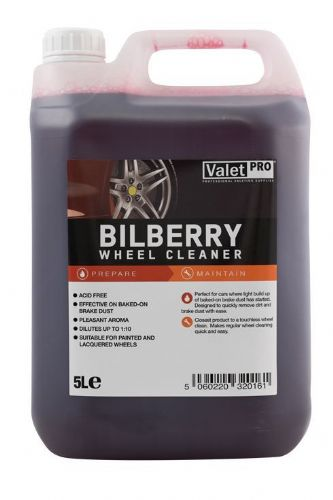 Valet Pro Bilberry Wheel Cleaner Alloy Safe 5L